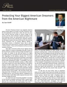 Protecting the american dream high limit disability insurance for the rich