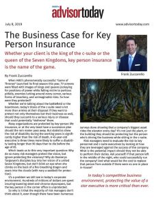Key person disability article